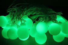 Green Halloween Lights LED Globe string light Outdoor St Patrick day patio