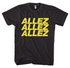 ALLEZ PRO CICLISMO TOUR DE FRANCE Vuelta GIRO Unisex T-Shirt Tutte Le Taglie Colori