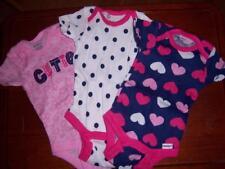 3 New Girl's Gerber Onesies, Baby Shower, Newborn or 0-3 Months