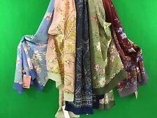 Écharpe femme  en soie 100% 150 x 43 cm authentique PAVLOV POSSAD Russie