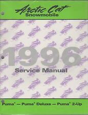 1996  ARCTIC CAT SNOWMOBILE PUMA, PUMA  DELUXE/2-UP SERVICE MANUAL PN 2255-298
