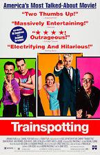 Trainspotting (1996) Movie Poster Sick Boy