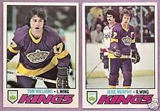 1977-78 OPC O-PEE-CHEE Los Angeles Kings Team Set