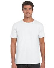 Gildan Softstyle Mens Short Sleeve Plain Cotton T-Shirt Single or Wholesale