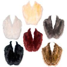 Elegant Ladies Faux Fur Collar Neck Warmer