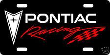 PONTIAC RACING CUSTOM LICENSE PLATE / CAR TAG