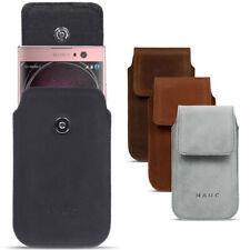 Schutz Hülle Sony Xperia Serie Handy Leder Tasche Lederhülle Ledertasche Cover