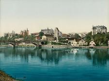 Saalfeld I. P.Z., photochromie, vintage photochrome, Deutschland photochromie,