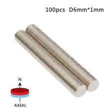 100pcs/set Super Strong Round Disc Magnets Rare-Earth Neodymium Magnet N35/N50
