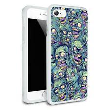 Zombie Pattern Dead Corpses Undead Slim Hybrid Case Fit iPhone 8, 8 Plus, X