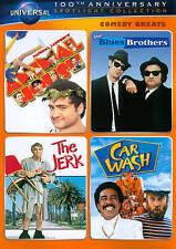 ANIMAL HOUSE/THE JERK/CAR WASH/ORIGINAL BLUES BROTHERS Steve Martin on DVD New