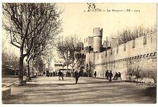 CPA 84 Vaucluse Avignon Les Remparts