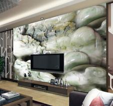 3D Stone Mountain House 5365 Wall Paper Wall Print Decal Wall AJ WALLPAPER CA