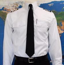 Aero Phoenix ELITE WL Pilot Shirt, Men's White Long Sleeve LS, Aviator USAF