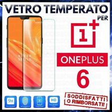 PELLICOLA IN VETRO TEMPERATO Per ONEPLUS 6 Protezione Schermo Display ONE PLUS