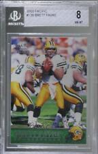 2000 Pacific #138 Brett Favre BGS 8 NM-MT Green Bay Packers Football Card