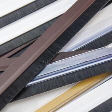 Dichtungsbürste Türdichtung Aluminium-PVC 5 Farben Türschwelle Dichtung Tür NEU