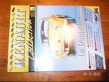 Fascicule Renault Collection  Renault La Dauphine Usine Flins + Fiche Technique