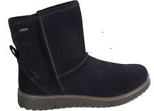 LEGERO Stiefel  Australien Boots Stiefelette dkl. blau echt Leder GORE TEX NEU