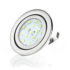 G4 LED montaje emisor plana set 12v muebles instalación luminarias einbauled instalación Spot