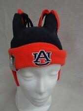 New Era Auburn University Infant Double Bunny Cuffed Fleece Beanie Knit Cap