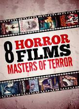 """8 HORROR FILMS: MASTERS OF TERROR"" 2-DISC"