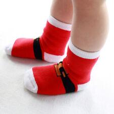 Xmas Kids Winter Sock Festive Toddler Baby Christmas Sock Cotton Sock