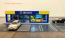 1/64 DIY assembly model Garage,street,Volkswagen Honda car showroom