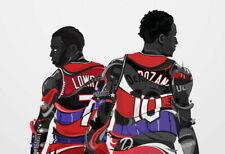 157734 DeMar DeRozan TORONTO RAPTORS Basketball NBA Wall Print Poster CA
