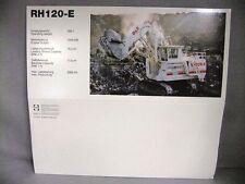 RH120-E Terex O&K Shovel #2771/05 NEW SLEEVE ONLY MODEL NOT INCLUDED Conrad 1:50