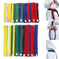 1.8m/2.8m Taekwondo Belt Karate Judo Double Wrap Martial Arts Stripe Sports Belt