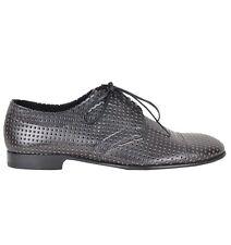 DOLCE & GABBANA RUNWAY Netz Schuhe Schwarz Net Shoes Black Chaussures Noir 02267