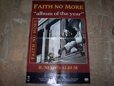 "FAITH NO MORE - POSTER ITALY TOUR""ALBUM OF THE YEAR"""