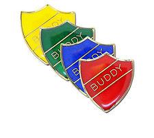 Buddy Shield School Enamel Badge