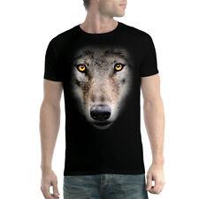 Cara de lobo Camiseta para hombre XS-5XL