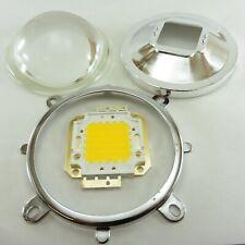 20W-100W High Pwer SMD LED Chip with Reflector Lens + Bracket  Bulb Floodlight