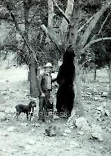 11x14 HUNTER BLACK BEAR DOGS HUNTING NEW MEXICO PHOTO