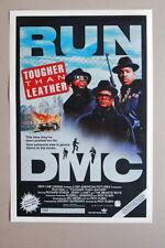 93206 RUN DMC lobby card Tougher Than lether Decor WALL PRINT POSTER FR