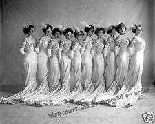 Historical Photograph of Washington DC Showgirls  1915c  8x10