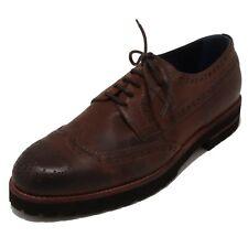 4220P scarpa allacciata UNO 8 UNO marrone scarpa uomo shoe men