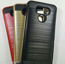 LG G6 - Slim Sleek Case with Credit Card Holder Case [Pro-Mobile]