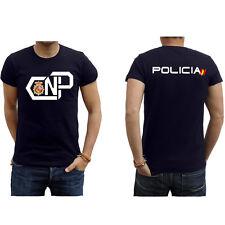 Camiseta Policia abstracta 2