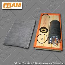SERVICE KIT VW GOLF MK4 (1J) 1.9 TDI FRAM OIL AIR FUEL CABIN FILTERS (1997-2005)