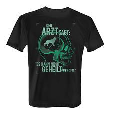 Arzt Schäferhund Herren T-Shirt Fun Shirt Spruch Geschenk Idee Hunde Besitzer