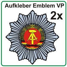 Volkspolizei VP Aufkleber Kfz Stern 16 cm DDR Trabi ua