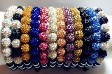 Premium Nouveau Cristal Bijoux Shamballa Tchèque bracelet 9 Perles