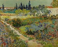 Vincent van Gogh - Garden at Arles Painitng Canvas Print wall home Decor