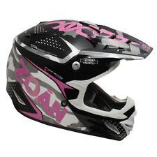Zoan MX-1 Sniper Black Pink Magenta Offroad Motocross Motorcycle Riding Helmet