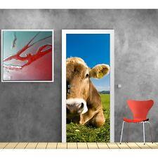 Papier peint porte Vache 531