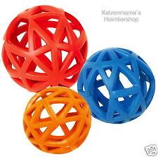 Vollgummi Gitterball Hundespielzeug Kauspielball robust Kauspielzeug Zahnpflege